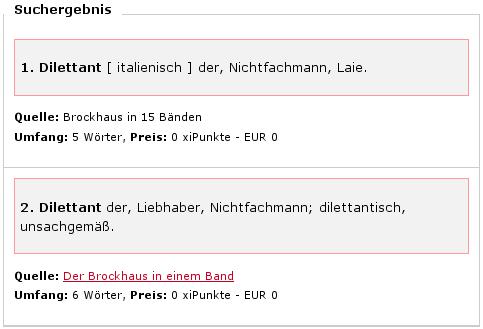 Brockhaus Dilettant