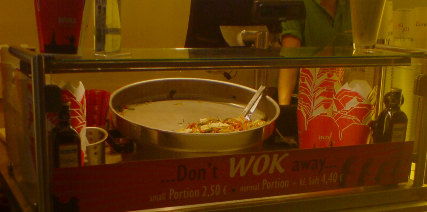 Dont wok away