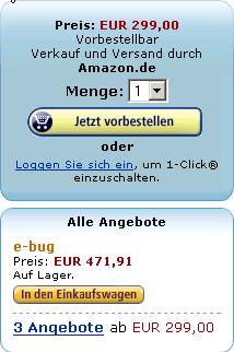 EEE-PC bei Amazon