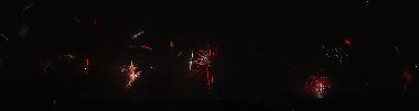 Nachthimmel Silvester 2007 - klein
