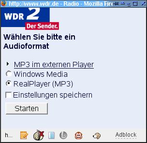 WDR2 Stream