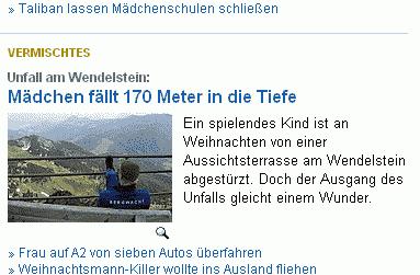 Ausschnitt: Netzeitung.de