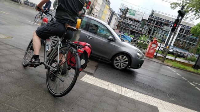 Der wütende Radfahrer