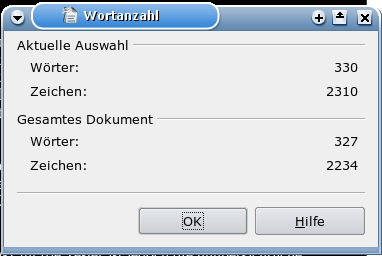 OpenOffice Bug