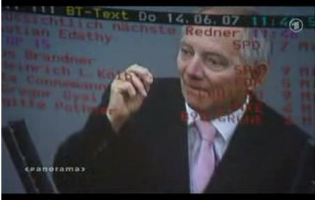 Bundestag-Videotext