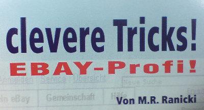 Ebay-Profi-Tipps von M.R. Ranicki