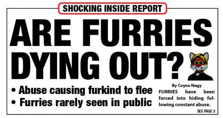 The Avastar: Furries sterben aus