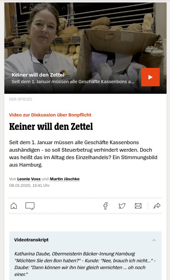 Medien, seid wie Spiegel <s>Online</s> - transkribiert!